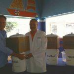 Hospital Roosevelt recibe donativo de Ecofiltro