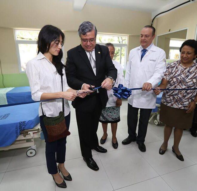 Inauguración de la Unidad de Terapia Intensiva de Adultos 2