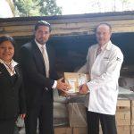Hospital Roosevelt  recibe donativo de Q. 100 mil   de Hotel Camino Real