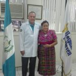 Premio Nobel de la Paz Rigoberta Menchú visitó Hospital Roosevelt