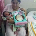Entregan frazadas a madres de recién nacidos