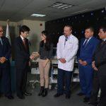 Hospital Roosevelt  Recibe Donativo del Gobierno de Japón