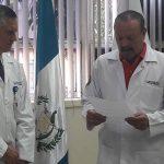 Juramentan a Jefe Interino de Cirugía Pediátrica