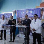 Presidente de la República, Jimmy Morales visita Hospital Roosevelt  por pacientes de  Hogar Seguro Virgen de la Asunción