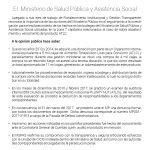 MSPAS reconoce las acciones del Ministerio Público en el marco de una Gestión Transparente