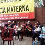 Hospital Roosevelt  conmemora  la Semana Mundial de la Lactancia Materna
