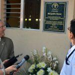 Homenaje Póstumo a Margarito Sucuc Colaborador de Seguridad