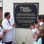 Clínica de Enfermedades Infecciosas llevará el nombre Dr. Carlos Rodolfo Mejía Villatoro