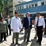 Director del Hospital Roosevelt y autoridades ministeriales  verifican seguridad