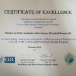 Clínica de Enfermedades Infecciosas recibe Certificación Internacional