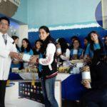 Club Interact Guatemala de la Asunción-Colegio Interamericano comparten con niños de la Unidad de Quemaduras Pediátricas