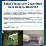 Exitoso trasplante Cadavérico en el  Hospital Roosevelt