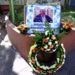 Misa en memoria de Margarito Sucuc  colaborador  de Seguridad del Hospital
