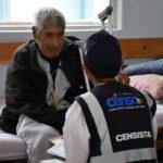 Pacientes abandonados son censados por el INE